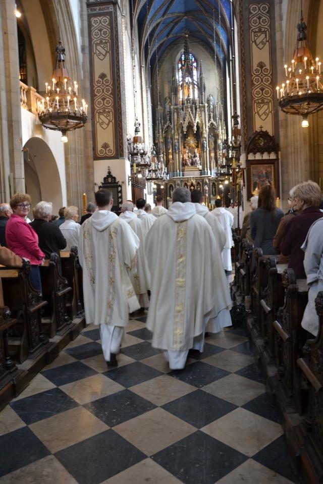 Msza Święta w Klasztorze Ojców Dominikanów