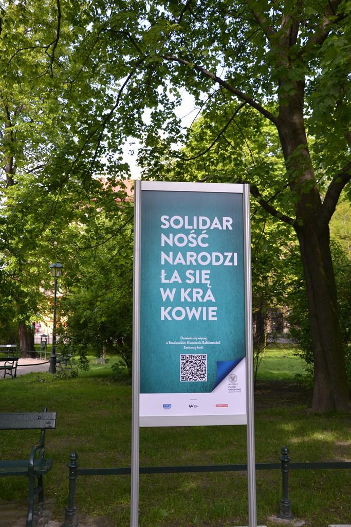 """Otwarcie wystawy """"Solidarnośc narodziła się w Krakowie"""""""